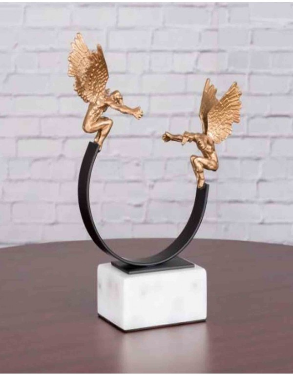 Guardian Angels Home Decor Showpiece