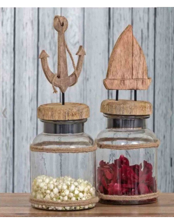 Jars Ahoy Home Decor Accessories (Set of 2)