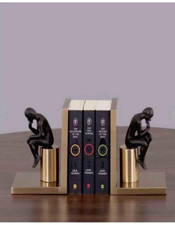 Pensive Pleasure Book Ends Home Decor