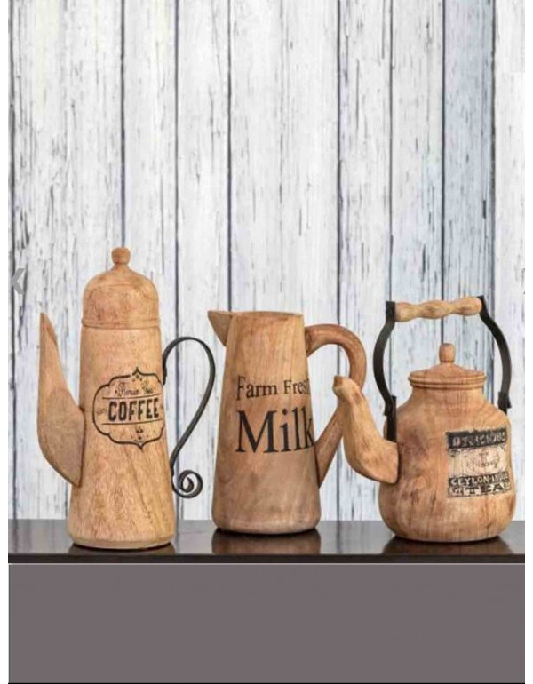 Unlimited Refills Wooden Decor (Set of 2)