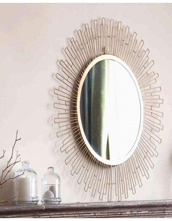 Marina Round Mirror