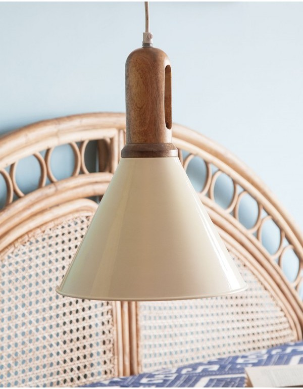Aeron (LED) Hanging Lamp Ivory