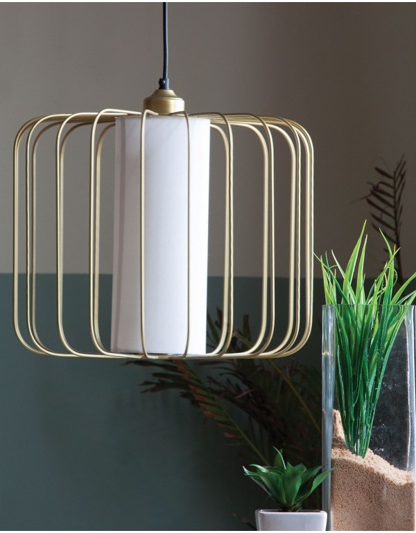 Merriam (LED) Hanging Lamp Gold