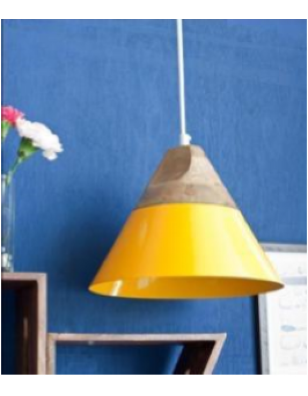 Maverick (LED) Hanging Lamp Yellow