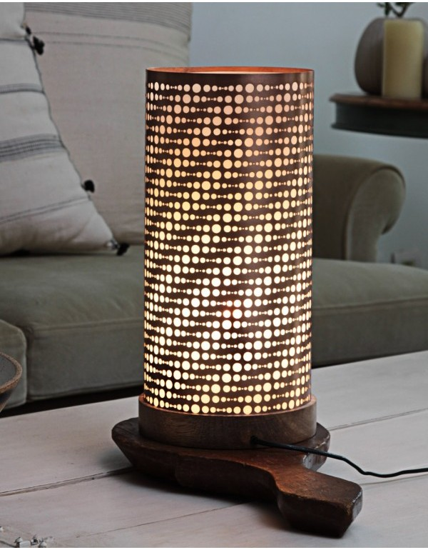 Cylo (LED) Table Lamp Gold