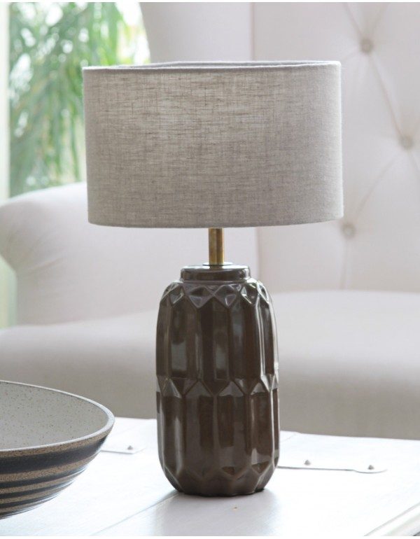 Nuki (LED) Table Lamp Brown